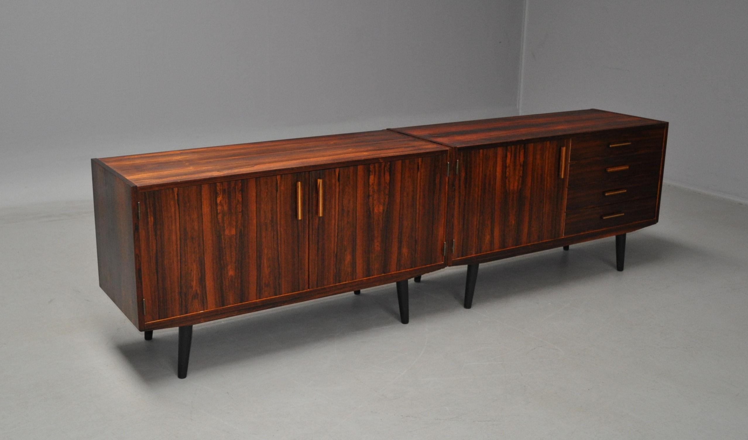 Aparador escandinavo de palisandro circa modernario for Palisandro muebles
