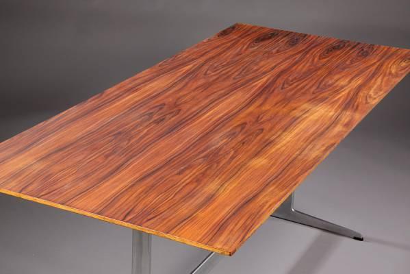 Arne jacobsen para fritz hansen mesa de comedor palisandro for Palisandro muebles